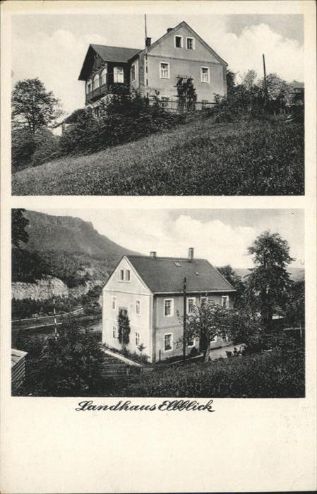 Koenigstein Saechsische Schweiz Koenigstein Saechsische Schweiz Landhaus Elbblick * / Koenigstein Saechsische Schweiz /Saechsische Schweiz-Osterzgebirge LKR