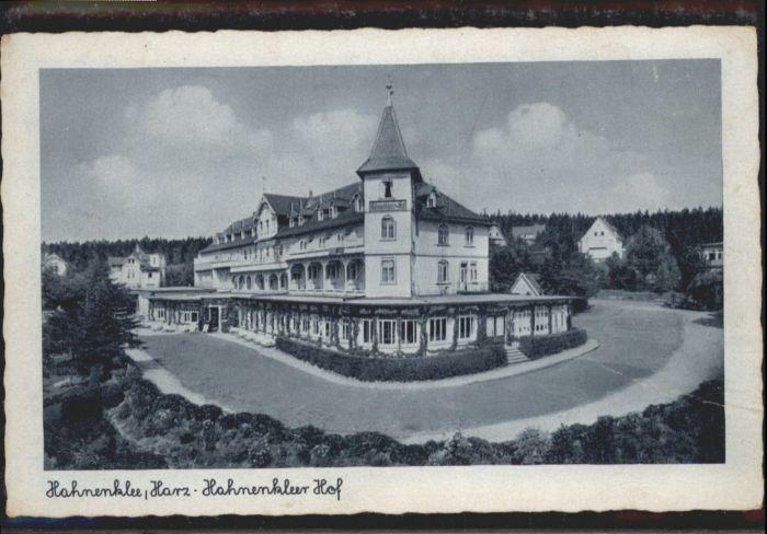 Hahnenklee-Bockswiese Hahnenklee Hof *
