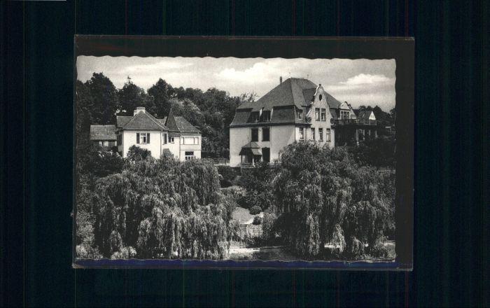Witzenhausen Werra Haus Salem *