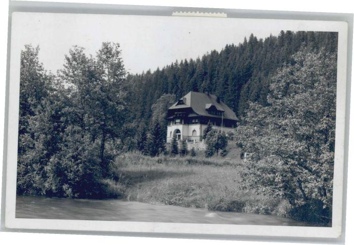 St Blasien Haus Schweder *