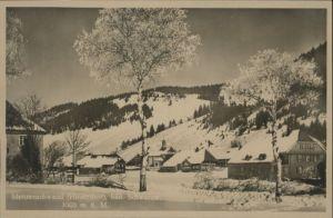 Menzenschwand Hinterdorf *