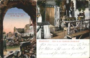 ww73820 Saarburg Saar Saarburg Schlacht Bruderdorf Altar Notkirche * Kategorie. Saarburg Alte Ansichtskarten