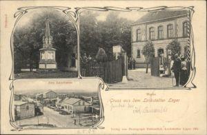Lockstedt Lockstedt Lager Landhaus Wache Denkmal x / Lockstedt /Steinburg LKR