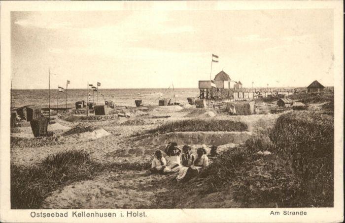Kellenhusen Ostsee Holstein Strand *