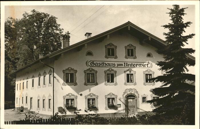 Chieming Chiemsee Gasthaus Metzgerei / Chieming /Traunstein LKR