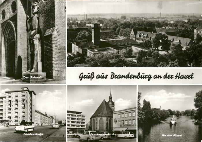 Brandenburg Havel Havel Katharinenkirche Der Roland Kat. Brandenburg