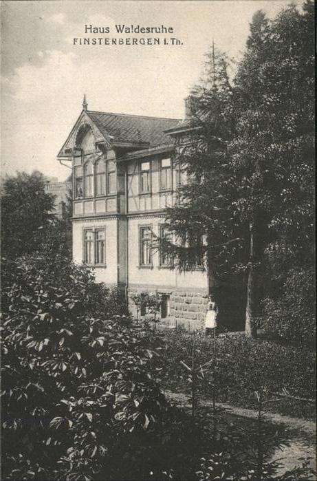 Finsterbergen Haus Waldesruhe Kat. Finsterbergen
