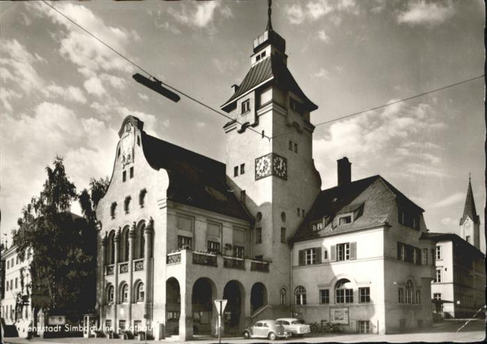 Simbach Inn Simbach Inn Rathaus x / Simbach a.Inn /Rottal-Inn LKR
