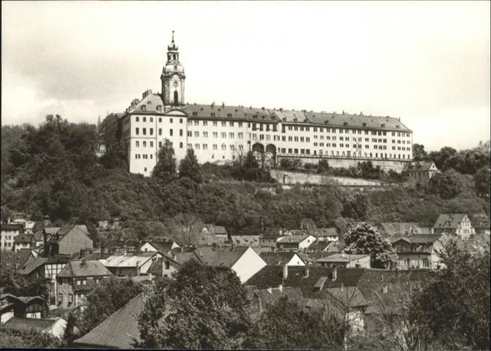 Rudolstadt Rudolstadt Schloss Heidecksburg * / Rudolstadt /Saalfeld-Rudolstadt LKR
