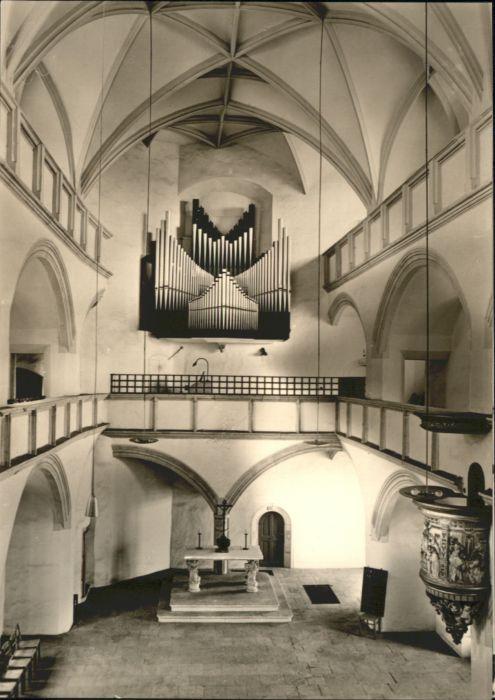 Torgau Torgau Schlosskirche Orgel * / Torgau /Nordsachsen LKR