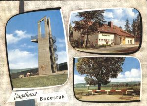 Bebra Jagdhaus Bodesruh Kat. Bebra