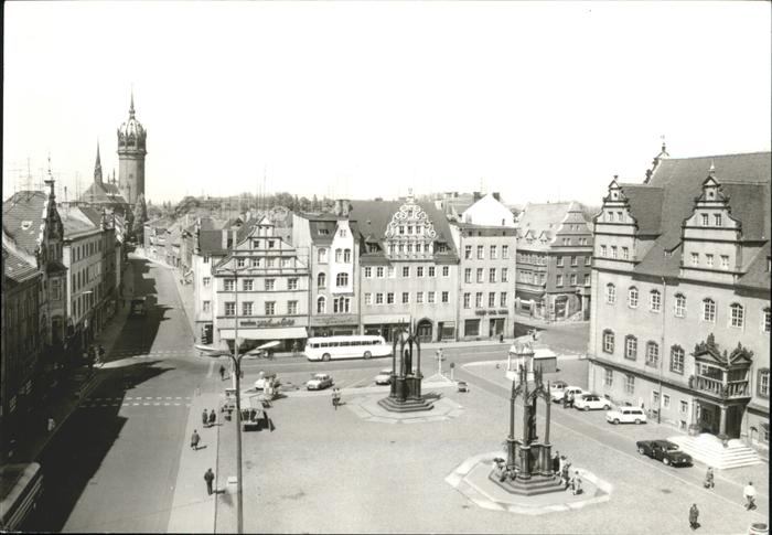 Wittenberg Lutherstadt Lutherstadt Marktplatz / Wittenberg /Wittenberg LKR