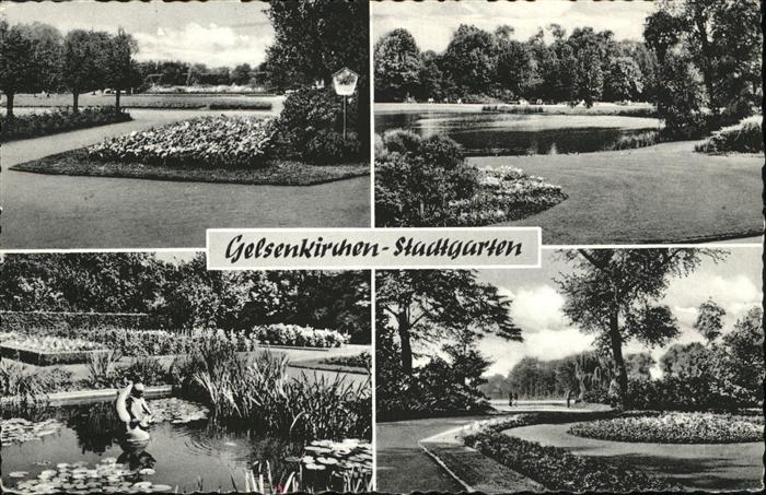Gelsenkirchen Stadtgarten Kat. Gelsenkirchen
