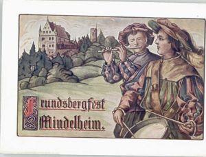 Mindelheim Mindelheim Frundsbergfest Kuenstlerkarte * / Mindelheim /Unterallgaeu LKR