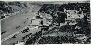 St Goar St Goar Burg Rheinfels * / Sankt Goar /Rhein-Hunsrueck-Kreis LKR
