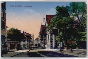Meiningen Thueringen Meiningen Georgstrasse * / Meiningen /Schmalkalden-Meiningen LKR