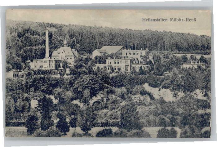 Gera Heilanstalten Milbitz-Reuss *