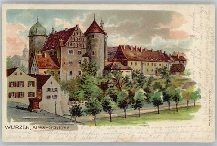 Wurzen Sachsen Wurzen Schloss x / Wurzen /Leipzig LKR