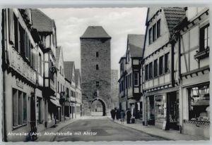 Ahrweiler Ahr Ahrweiler Ahrhutstrasse Ahrtor * / Bad Neuenahr-Ahrweiler /Ahrweiler LKR