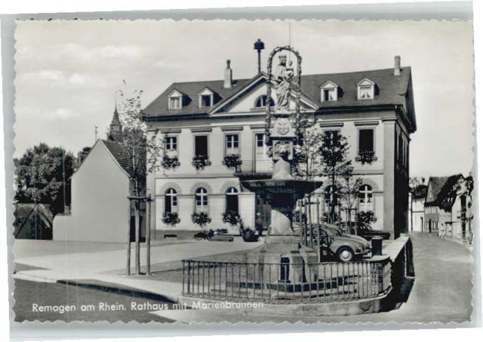 Remagen Rathaus Marienbrunnen *