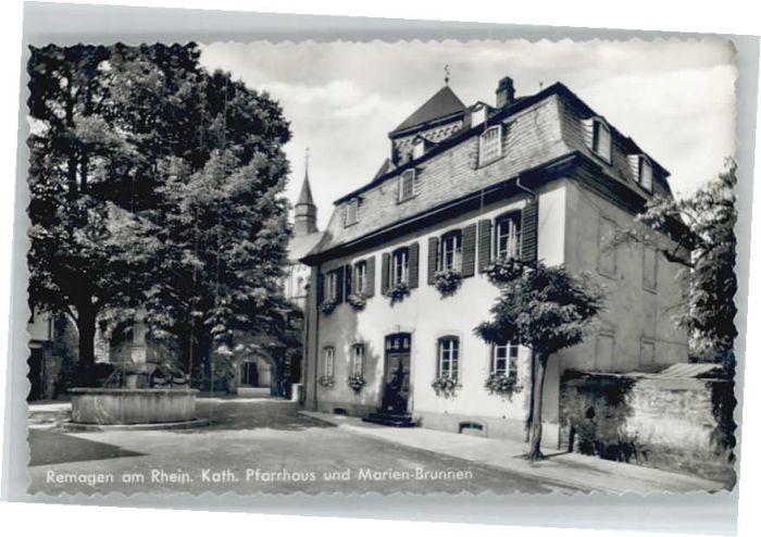 Remagen Pfarrhaus Marienbrunnen *