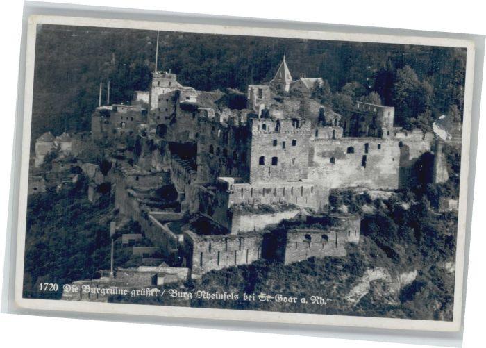 St Goar Burg Rheinfels *
