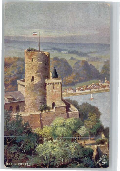 St Goar Burg Rheinfels x
