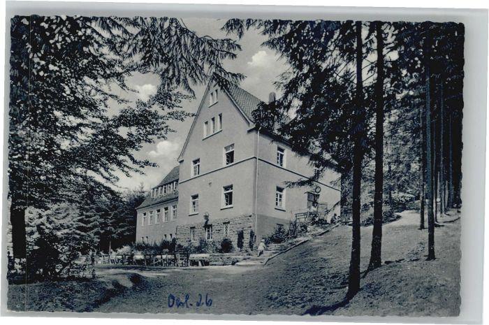 Oerlinghausen Naturfreundehaus *