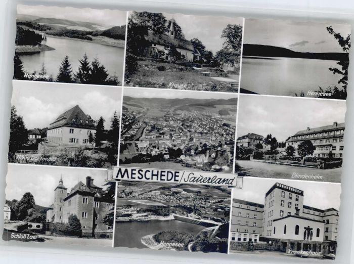 Meschede Hennesee Blindenheim Schloss Laer Haus Dortmund *