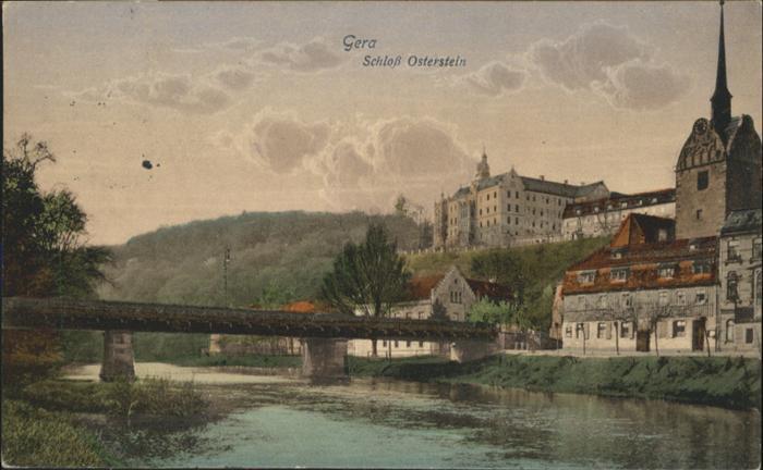 Gera Schloss Osterstein / Gera /Gera Stadtkreis