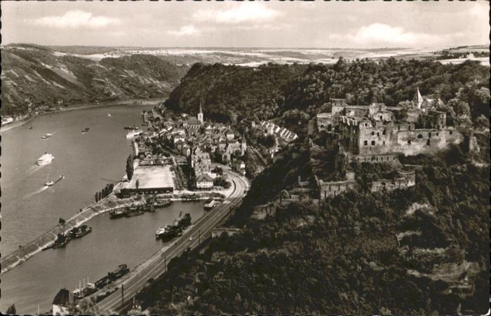 St Goar Burg Rheinfels / Sankt Goar /Rhein-Hunsrueck-Kreis LKR