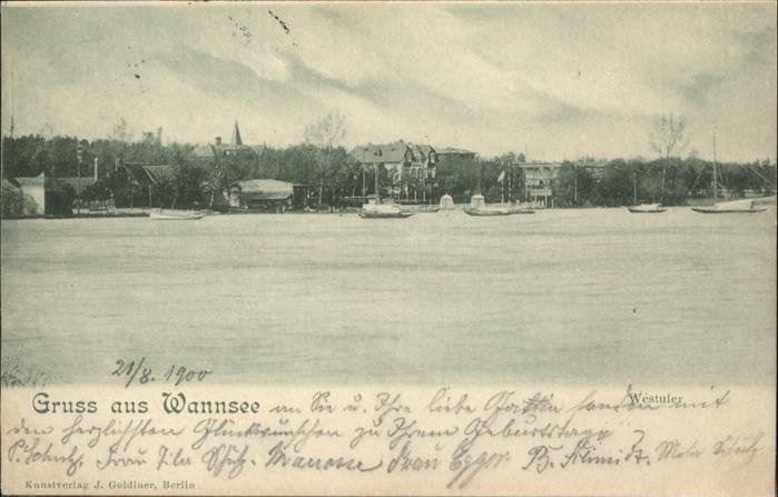Wannsee Wannsee / Berlin /Berlin Stadtkreis