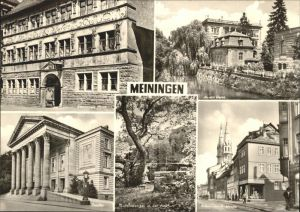 Meiningen Thueringen Theater Anton Ullrich Strasse / Meiningen /Schmalkalden-Meiningen LKR