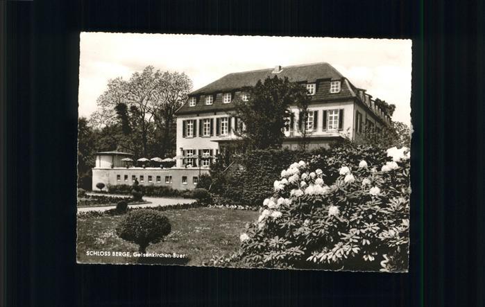 Gelsenkirchen Buer Schloss Berge / Gelsenkirchen /Gelsenkirchen Stadtkreis