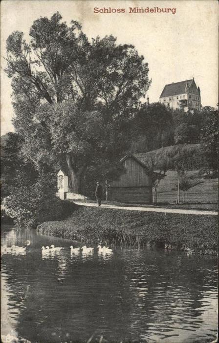 Mindelheim Schloss Mindelburg / Mindelheim /Unterallgaeu LKR