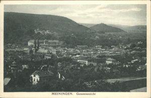 Meiningen Thueringen  / Meiningen /Schmalkalden-Meiningen LKR
