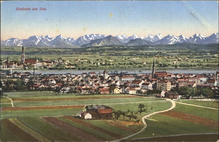 Simbach Inn  / Simbach a.Inn /Rottal-Inn LKR