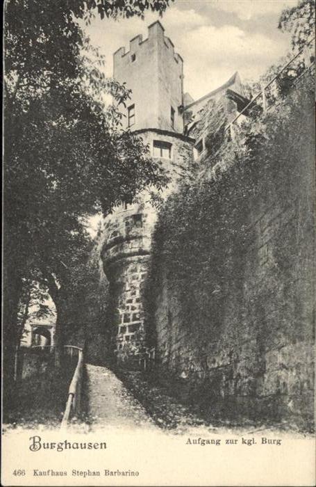 Burghausen Aufgang zur Burg
