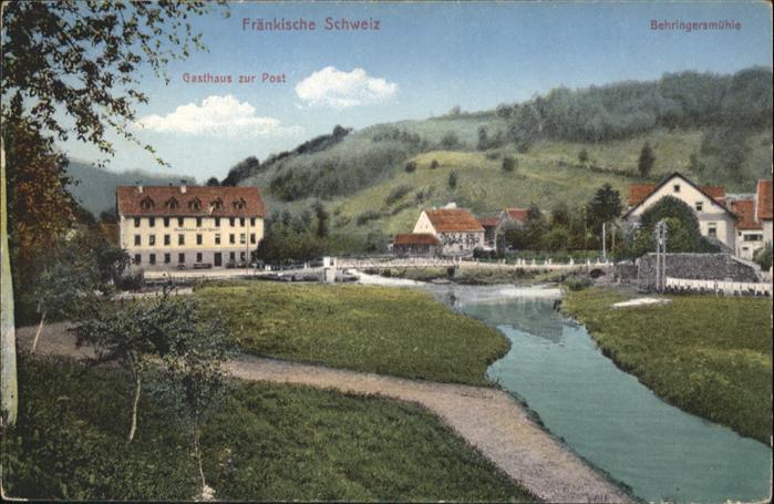 Behringersmuehle Gasthaus Zur Post