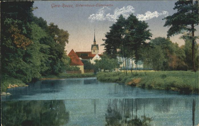 Gera Reuss Unterkunftshaus Elsterpartie