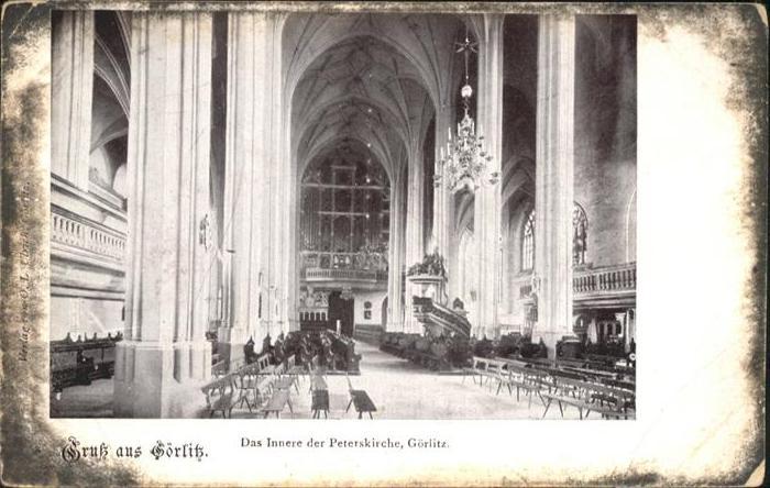 Goerlitz Sachsen Goerlitz Peterskirche / Goerlitz /Goerlitz LKR