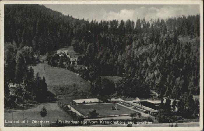 Lautenthal Schwimmbad Kranichsberg x