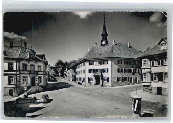 Bonndorf Schwarzwald Bonndorf Rathausplatz x / Bonndorf /Waldshut LKR