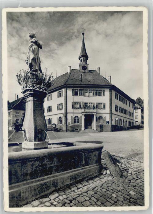Bonndorf Schwarzwald Bonndorf Rathausplatz * / Bonndorf /Waldshut LKR
