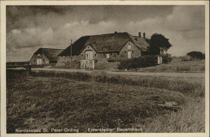 St Peter-Ording St Peter-Ording Eiderstedter Bauernhaus x / Sankt Peter-Ording /Nordfriesland LKR