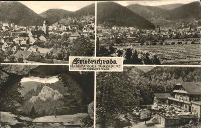 Friedrichroda Thueringer Wald / Friedrichroda /Gotha LKR