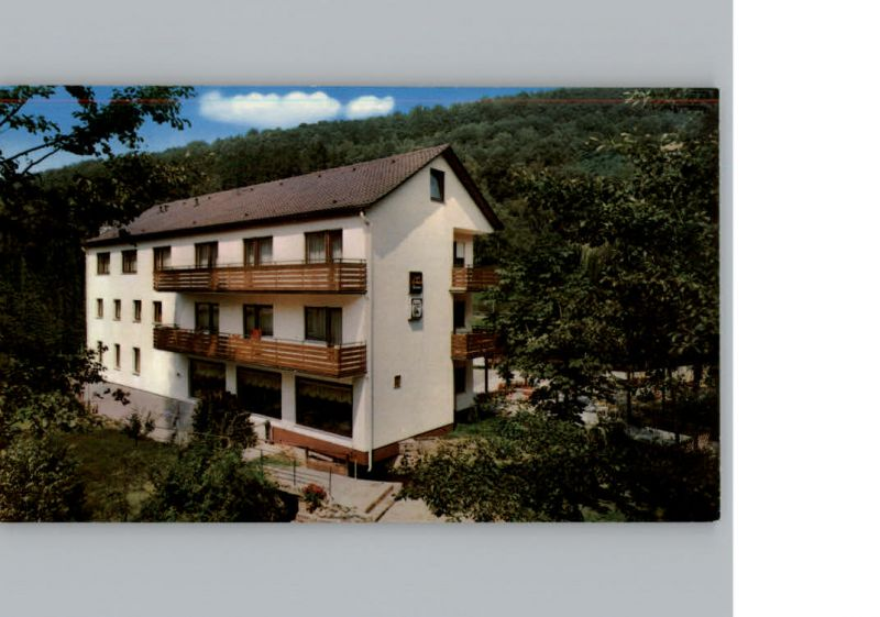 Bad Brueckenau Hotel Zur Muehle Bad Brueckenau Bad Kissingen Lkr