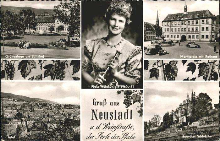pw02436 Neustadt Weinstrasse Pfalz Weinkoenigin 1960  Kategorie. Neustadt an der Weinstr. Alte Ansichtskarten