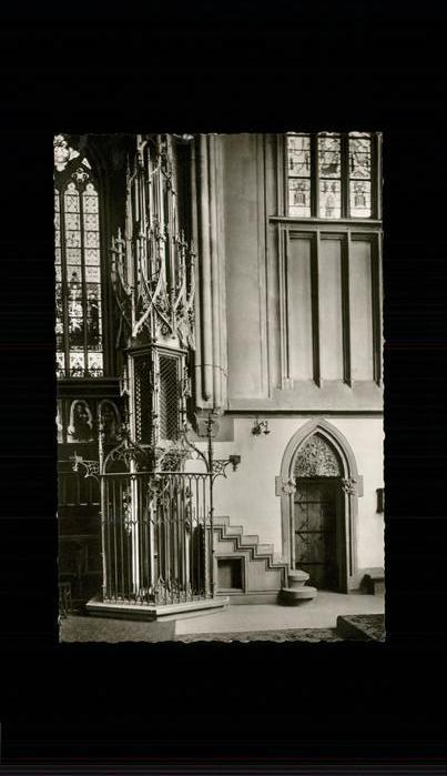 Friedberg Hessen Stadtkirche Innenansicht Kat. Friedberg (Hessen)
