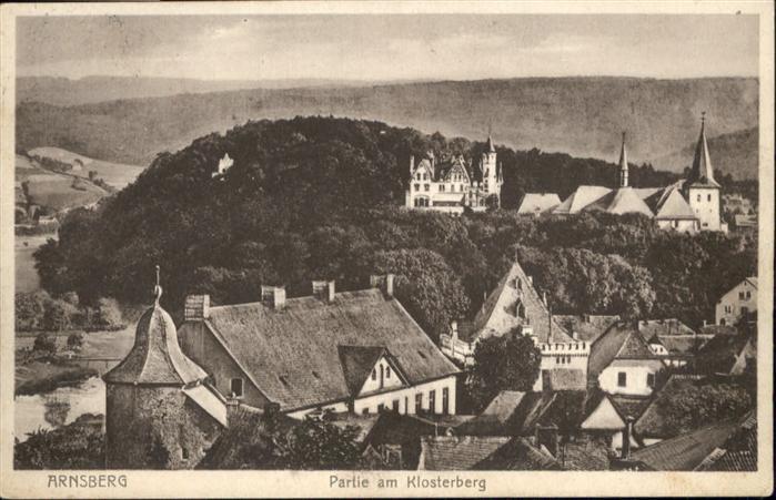 Arnsberg Westfalen Arnsberg Klosterberg x / Arnsberg /Hochsauerlandkreis LKR